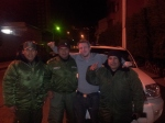 Me and three friendly Bolivian Policemen.