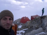 Me at the high camp, somewhere around 5500m.