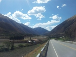 Road to Cusco.