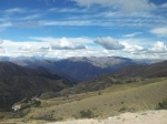 Views from the road to Ayacucho.