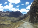 Road from La Union to Huaraz.