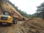 Building works on the road to Vilcabamba