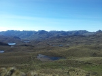 Las Cajas. Can anyone see the trail? I'd lost it at this point