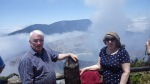 Mum and dad at Volcan Poás, CR.