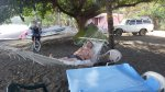 Relaxing in Ometepe, Nicaragua.