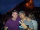 Me and Peter at Chromeo at Red Rocks