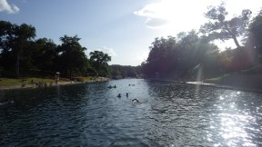Barton Springs. Austin TX.