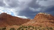Desert storms in NM.
