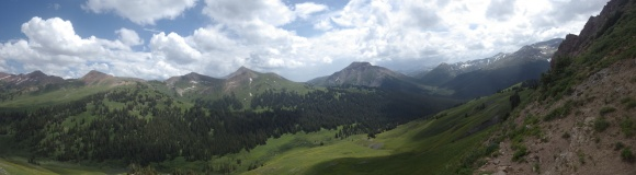 East Fork Trail, Crested Butte CO