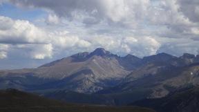 Long's peak. Rocky Mountains National Park.