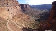 Shafer Trail, Moab, Utah.