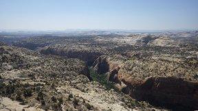 Views through Grand Escalante National Monument Utah